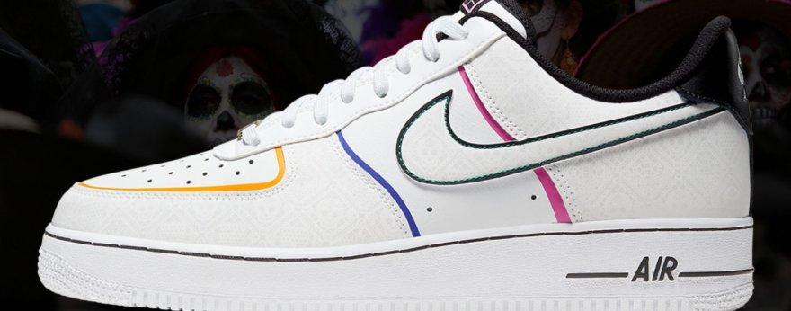 Nike se prepara para Día de Muertos con este modelo
