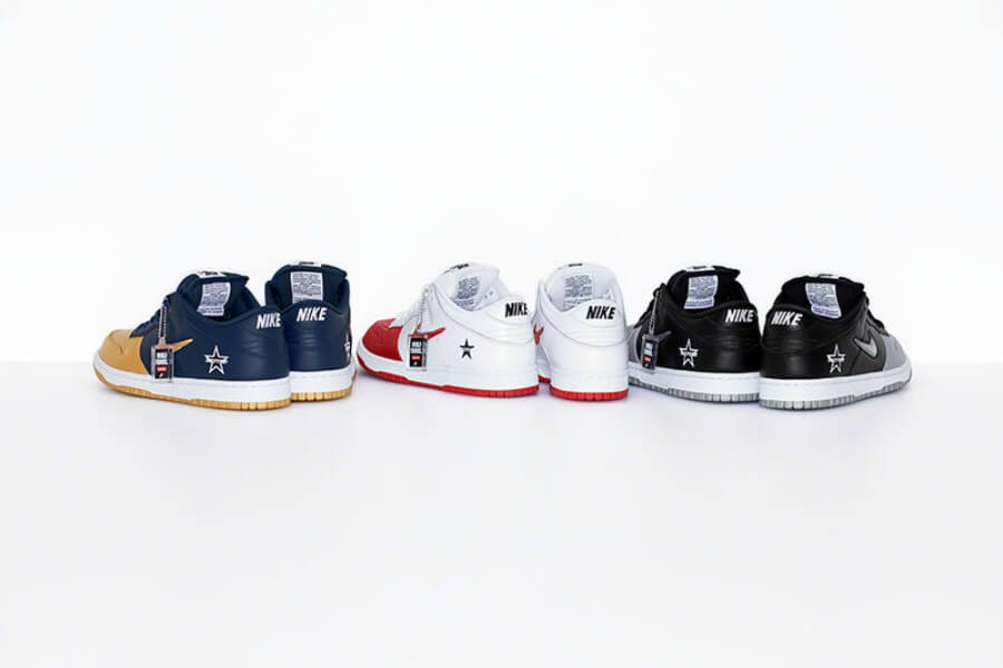 Nike y supreme