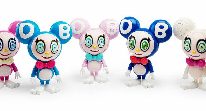 Nuevos juguetes de Takashi Murakami por el MoMA
