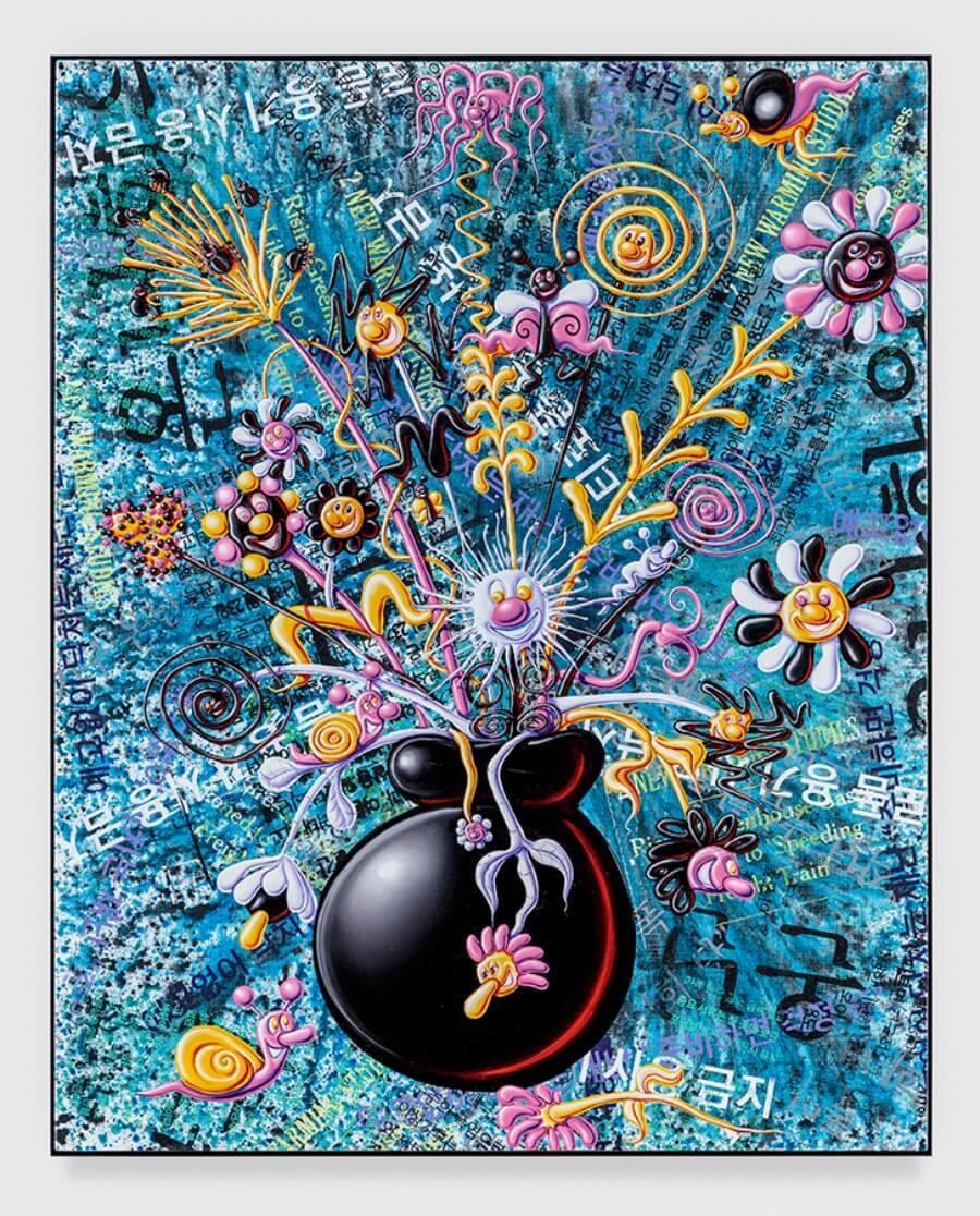 obra de Kenny Scharf
