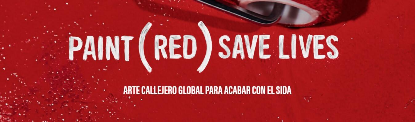 Campaña de (RED) para erradicar el SIDA