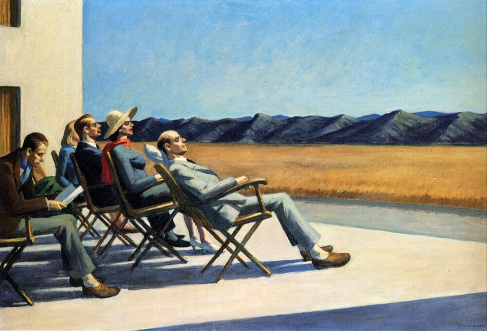 pintura de David Hopper