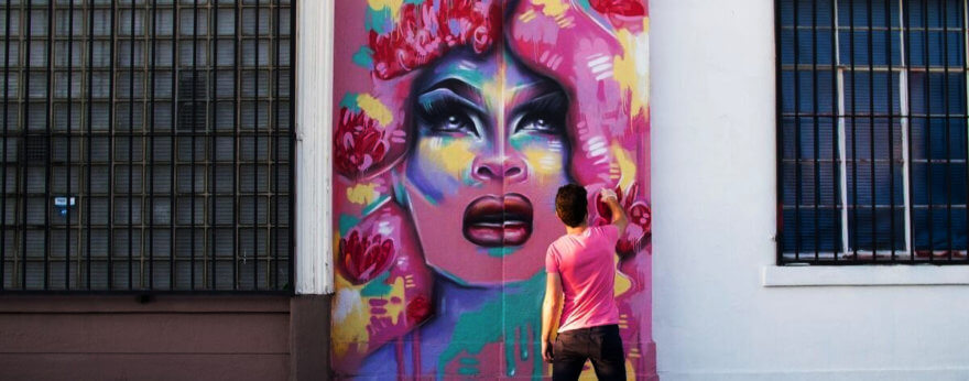 Queer street art documentado en fotografías