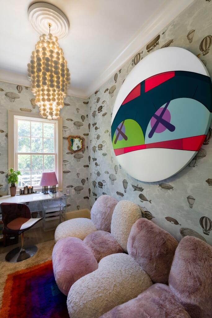 interior de la casa de Ryan Brant para Sotheby's