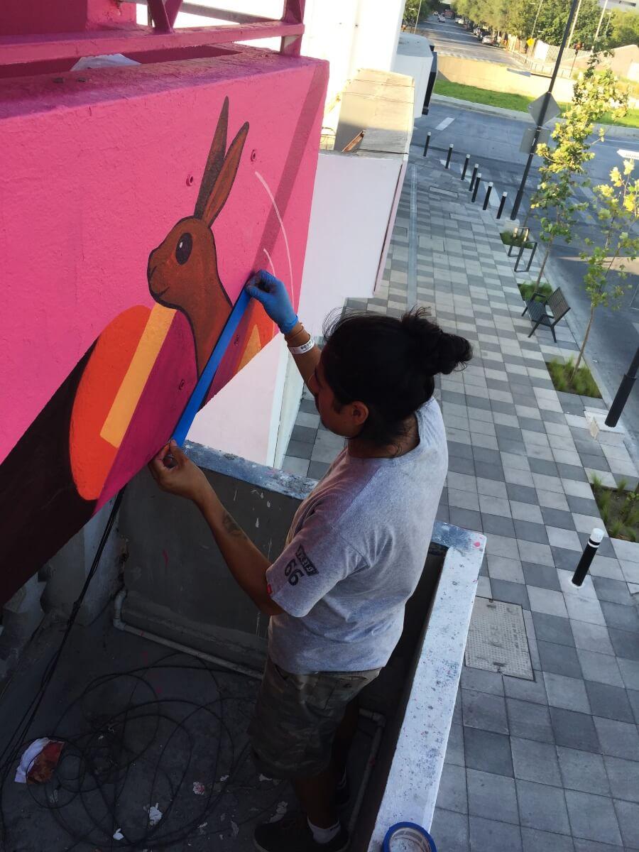 mural Evolución en DistritoTec