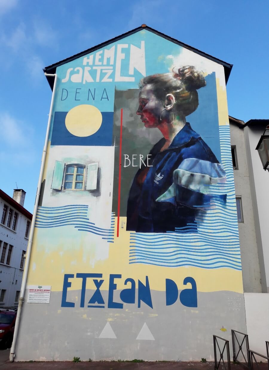 street art, arquitectura y retratos