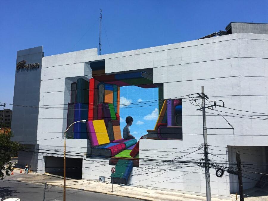 mural de Seth en México