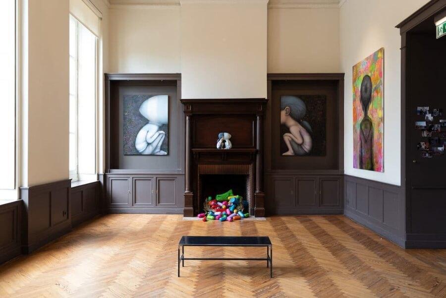 Seth hizo del Historic Château un museo de street art