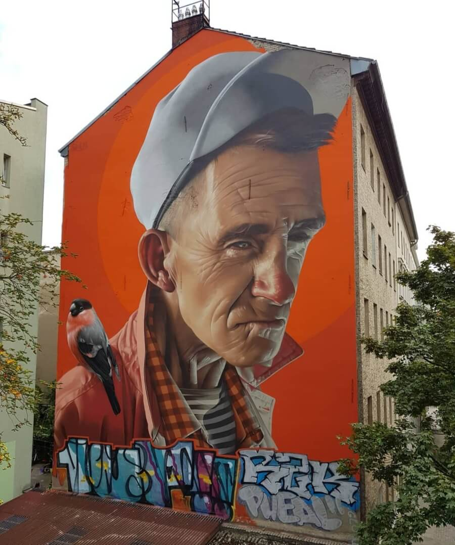 Smug y su street art realista