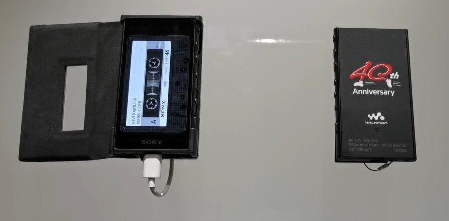 modelo NW-A100TPS