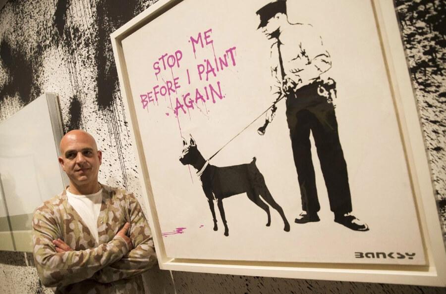 Steve Lazarides, agente de Banksy, se retira