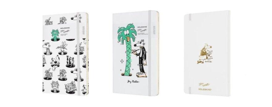 Steven Harrington y su colección de libretas Moleskine