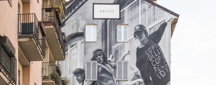 Street art en campañas de marcas de lujo