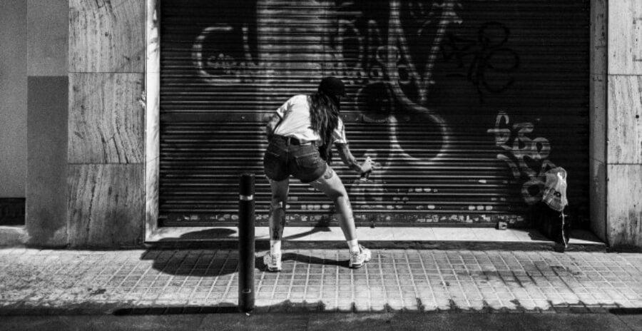 Mujeres del street art