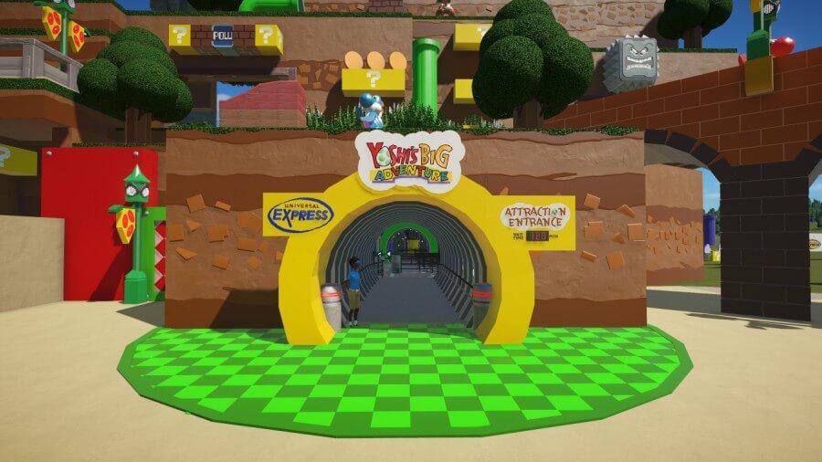 parque de diversiones de Nintendo