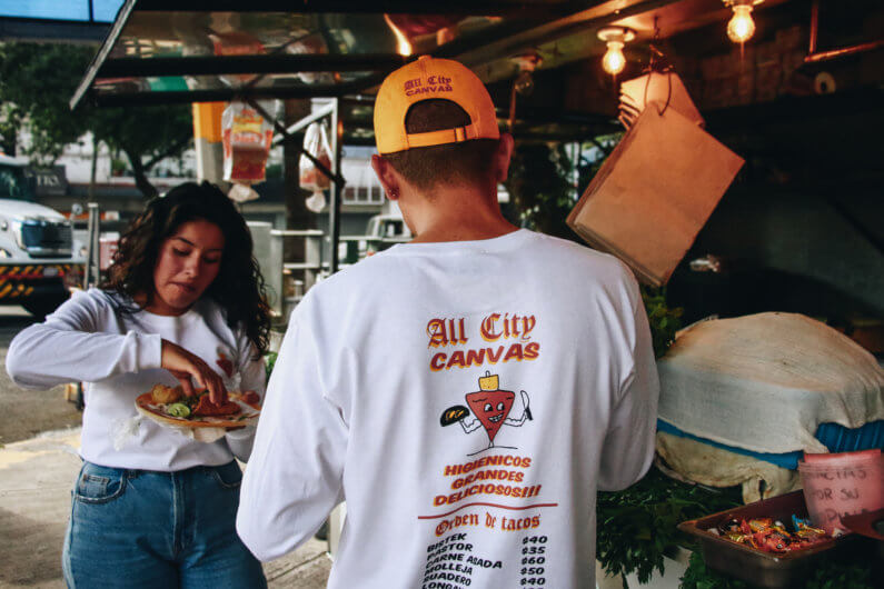 All City Canvas con 555-8888 presenta su nuevo drop «Taquitos»