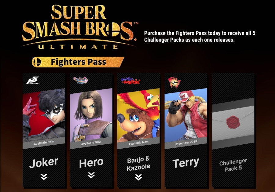 battle pass Smash Bros Ultimate