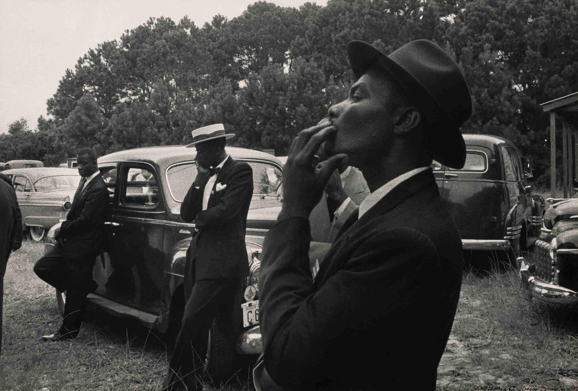 fotografía del libro The Americans de Robert Frank