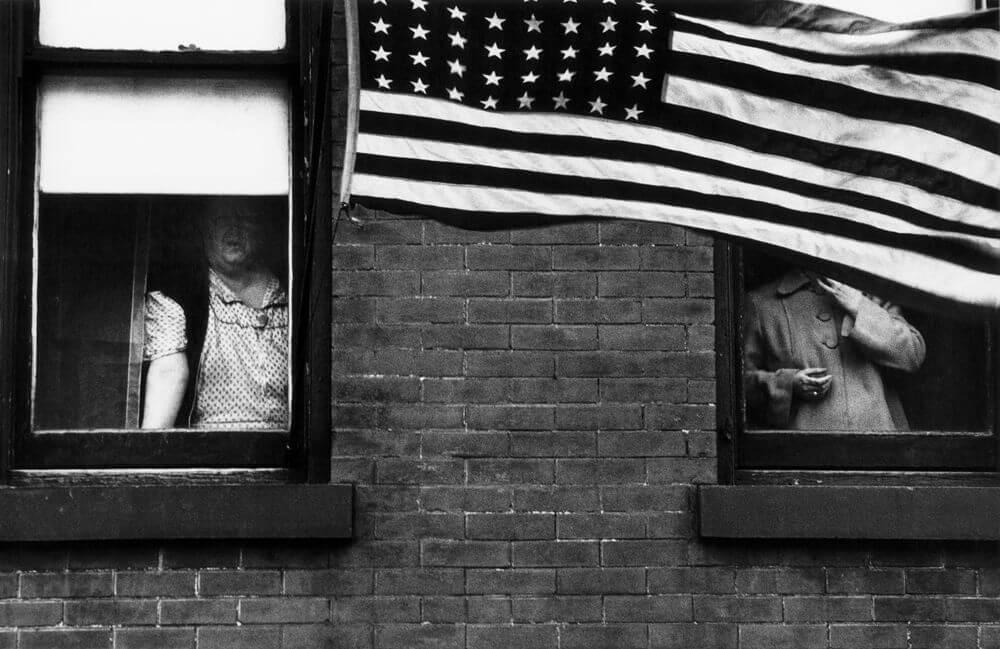fotografía del libro The Americans