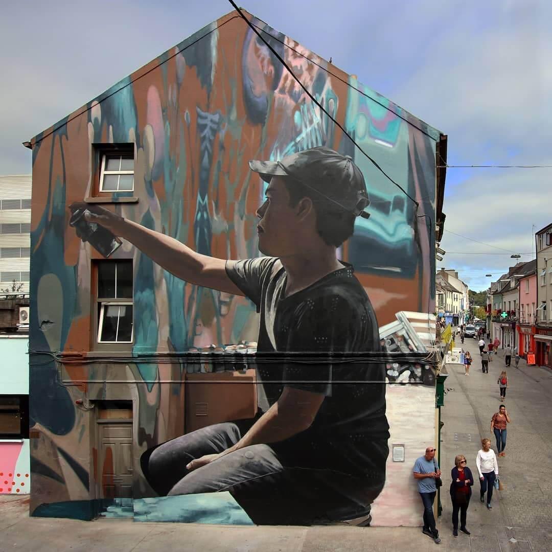 mural Torbe36 en Irlanda