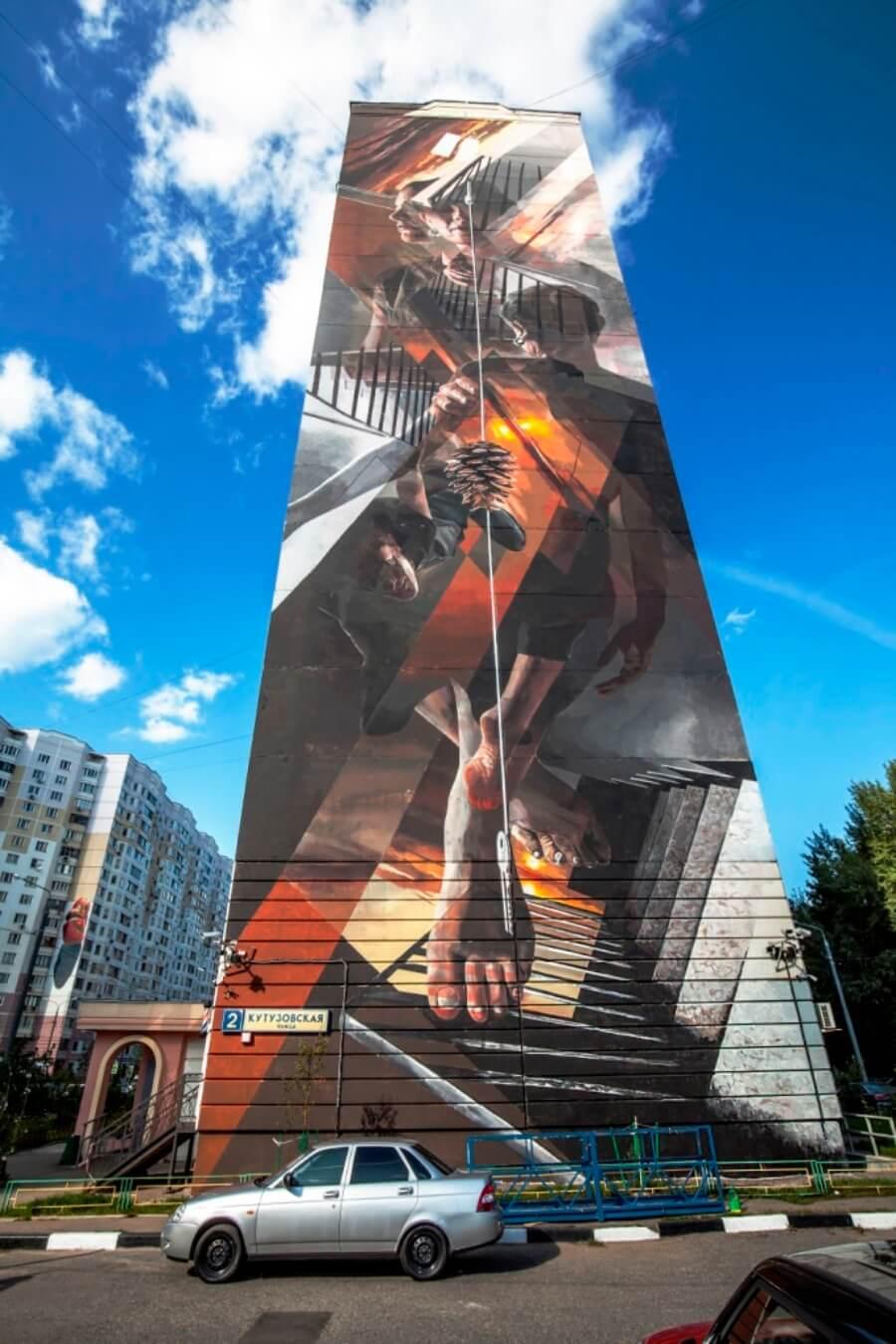 Vesod street art