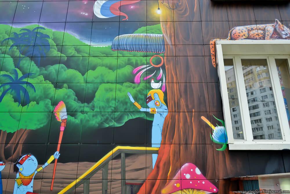 Cranio street art en Urban Morphogenesis