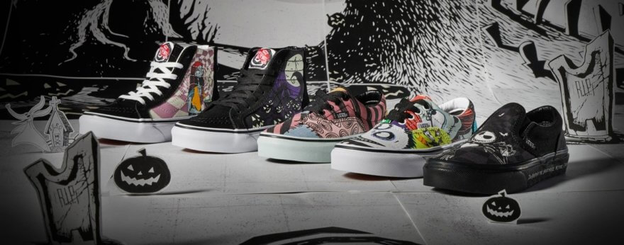 Vans de The Nightmare Before Christmas tiene nuevos items