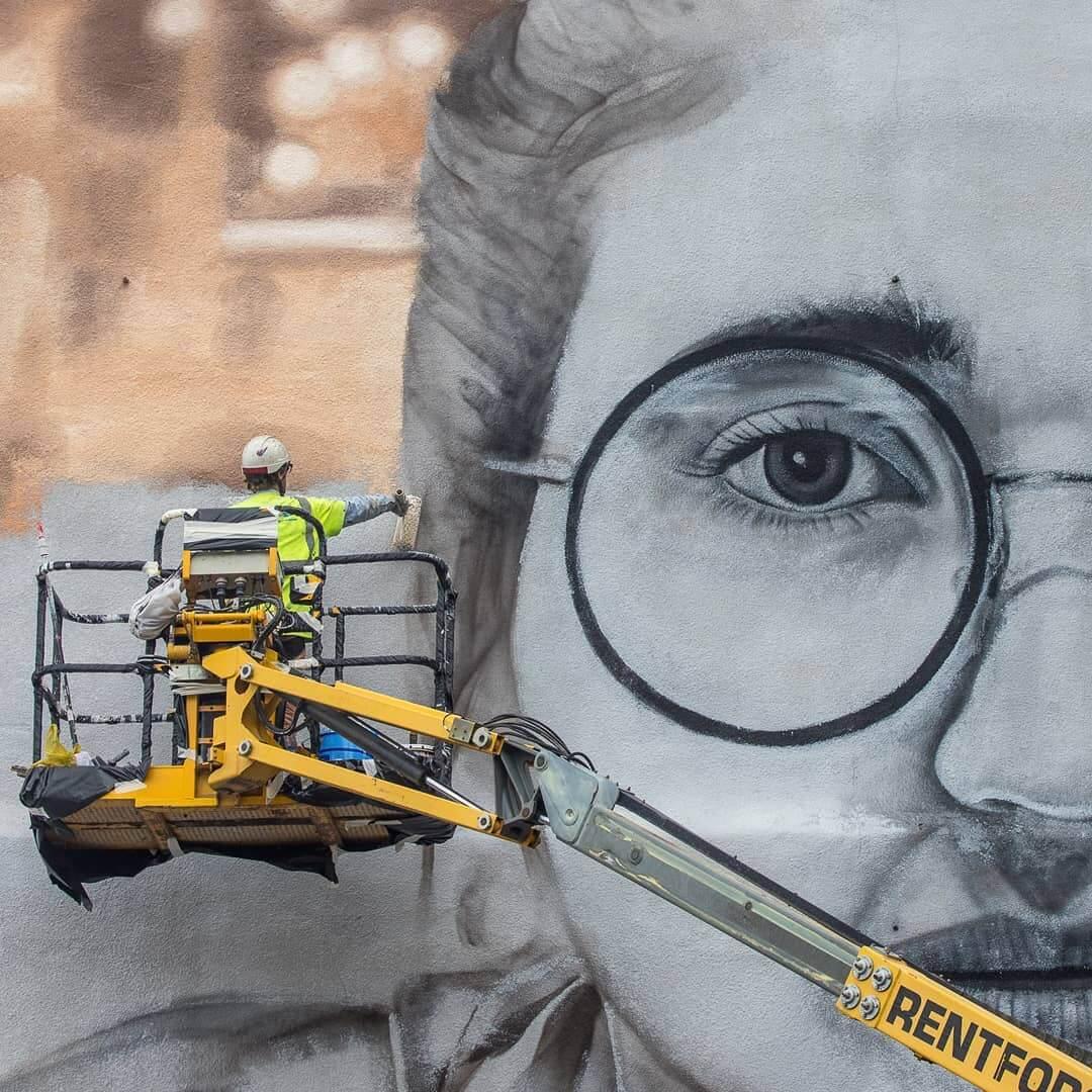 mural Vera Primavera