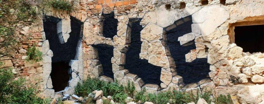 Vile, graffiti y realismo en un mismo muro