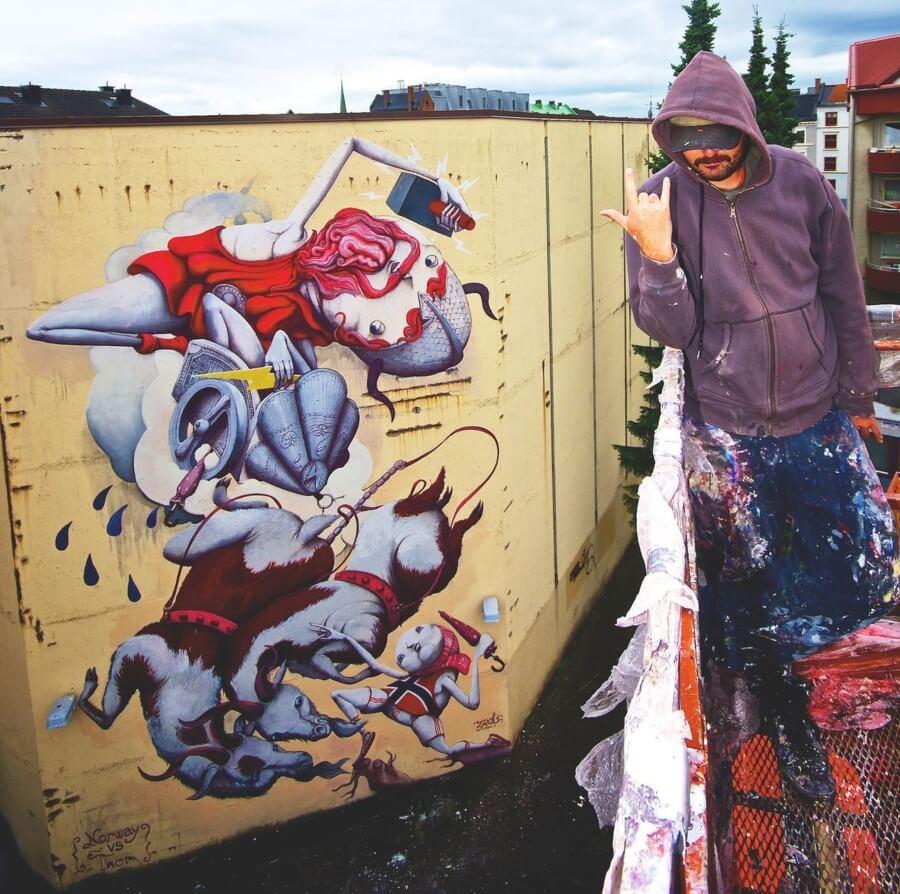 Zed1 y su fascinante mundo de street art