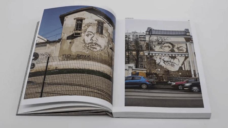 street art book by Vhils