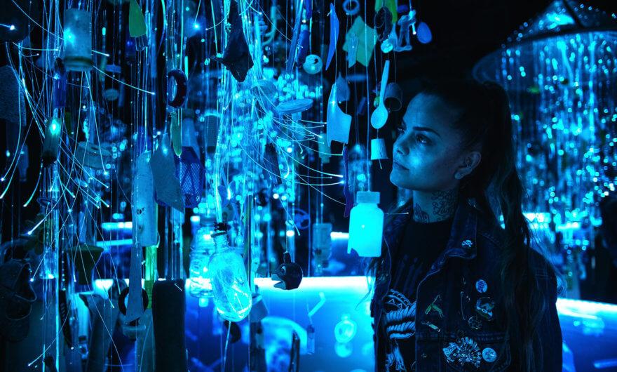 Arcadia Earth, exposición inmersiva pro medio ambiente
