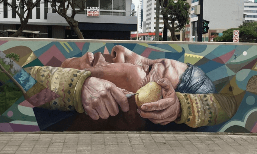 street art mural by Decertor