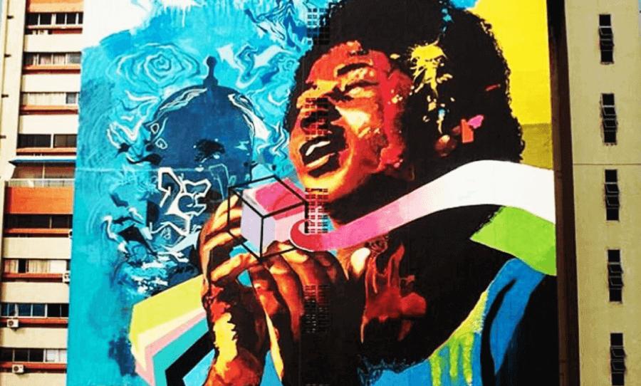 Latin American street art