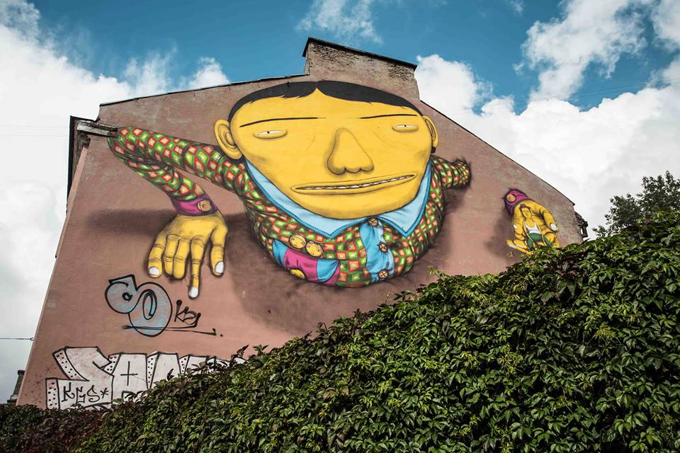 mural by OSGEMEOS, one of the best murals of 2015