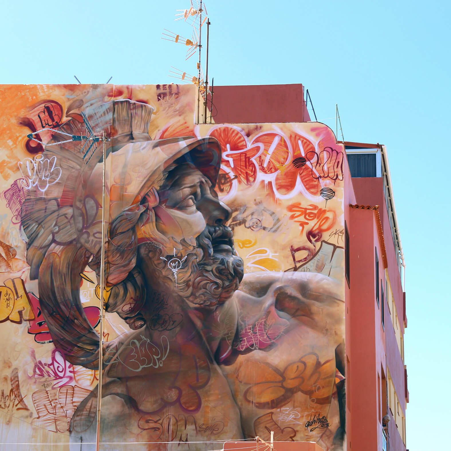 Mural by Pichiavo, one of the bets murals of 2015