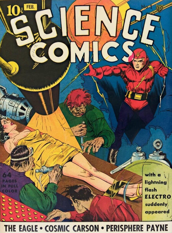 Science Comics in digital museo