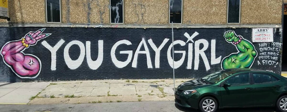 The Streets Are Queer exhibe arte urbano queer en LA