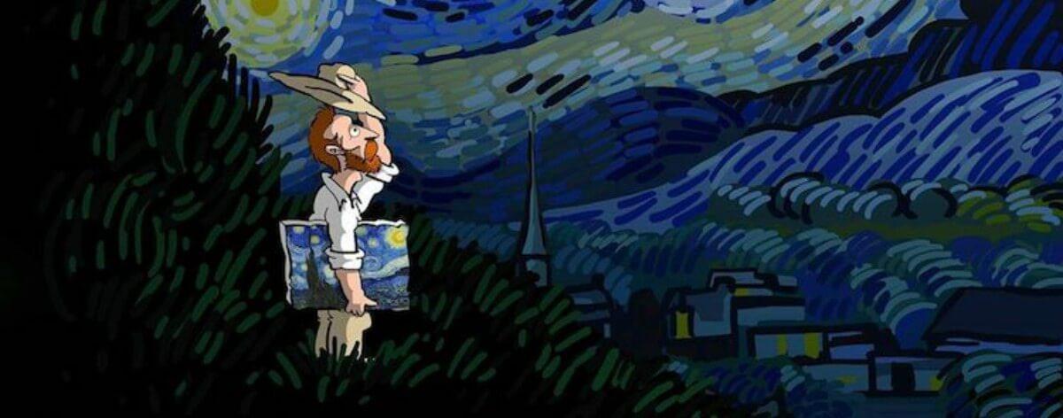 Alireza Karimi Moghaddam y su homenaje a Van Gogh