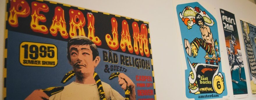 Ames Bros y Mercadorama celebran aniversario con pósters de conciertos
