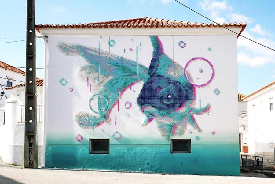 street art bordado