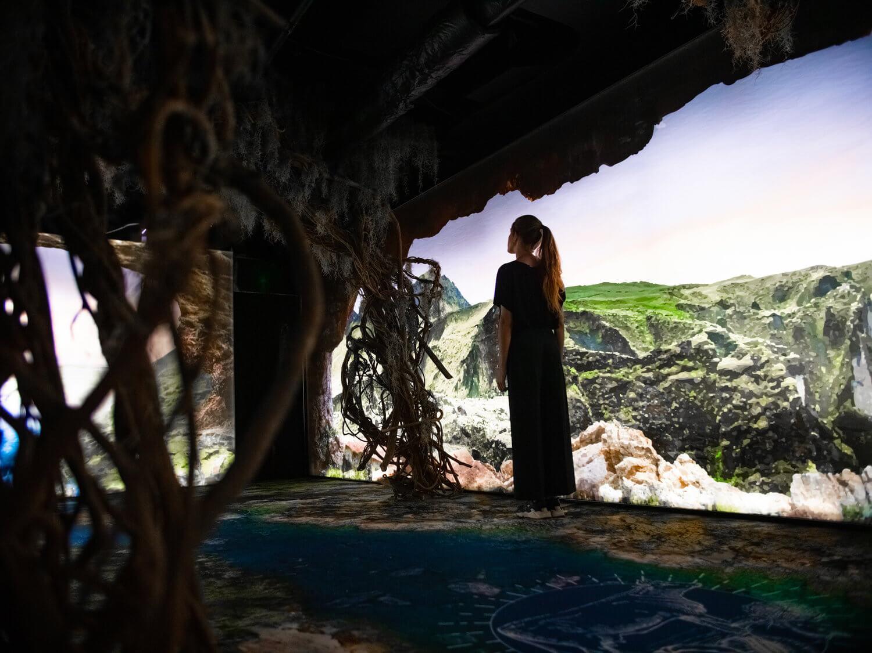 instalación Arcadia Earth contra el cambio climático