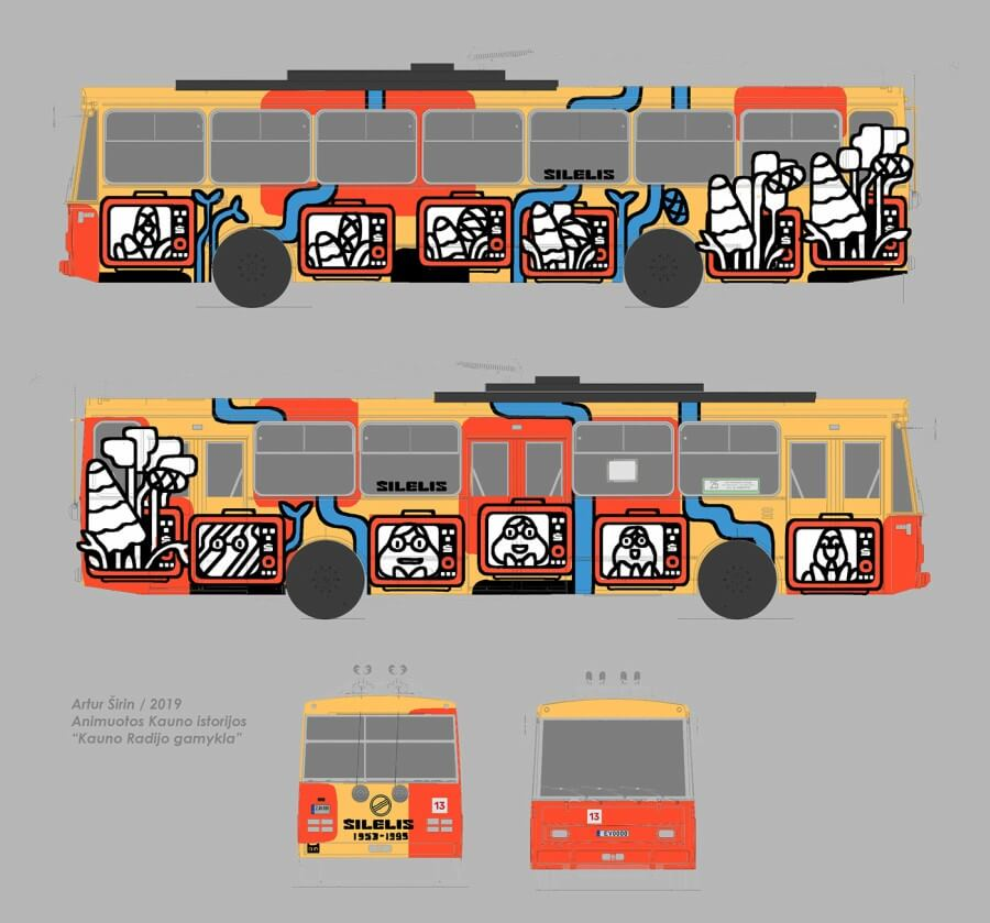 autobus intervenido en Lituania
