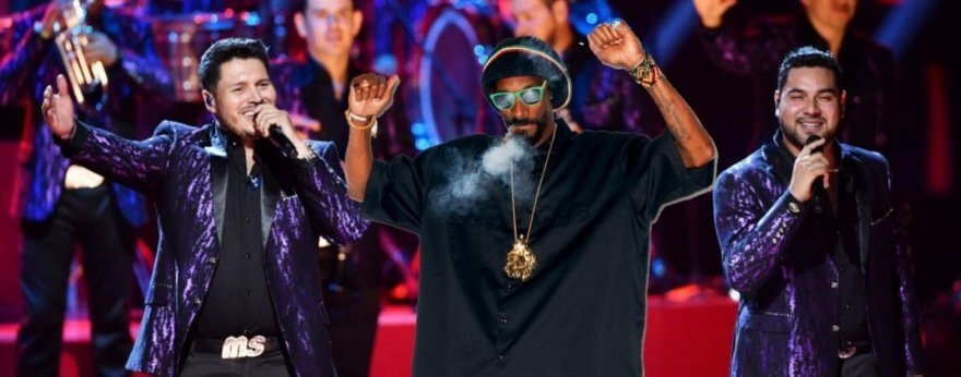 Banda MS y Snoop Dogg confirman concierto juntos