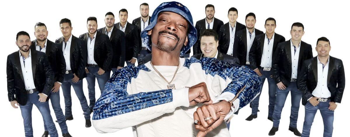 Banda MS y Snoop Dogg podrían preparar algo juntos