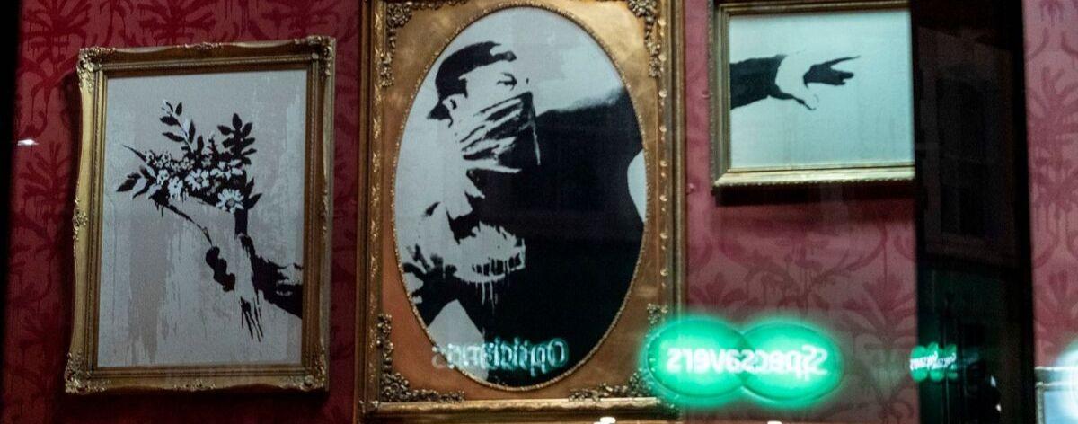 Banksy vende sus obras para ayudar migrantes