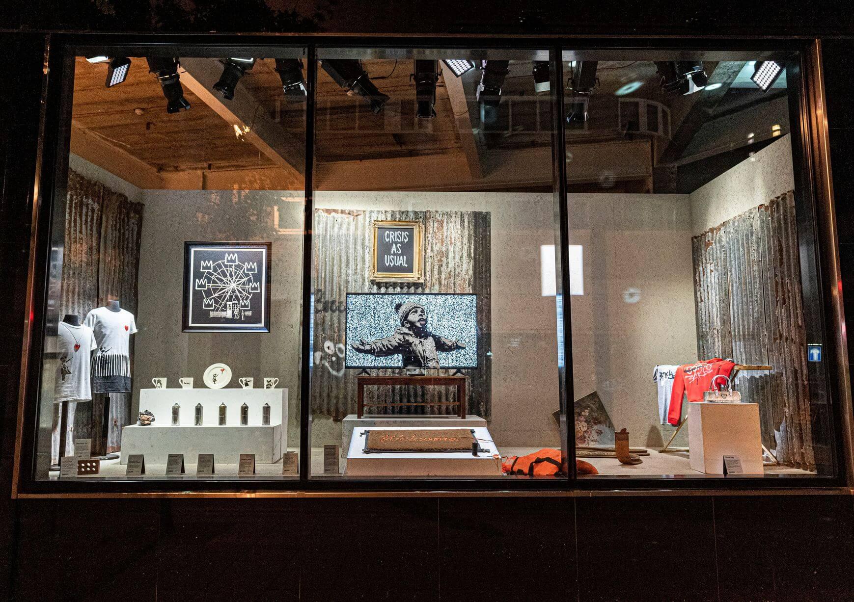 tienda de Banksy