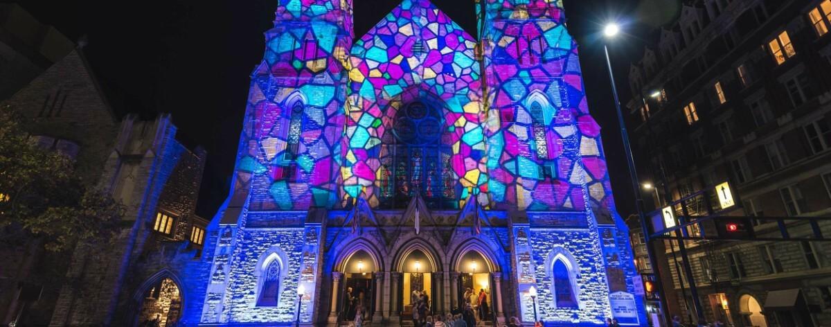 Blink, un festival de luz y arte en Cincinnati