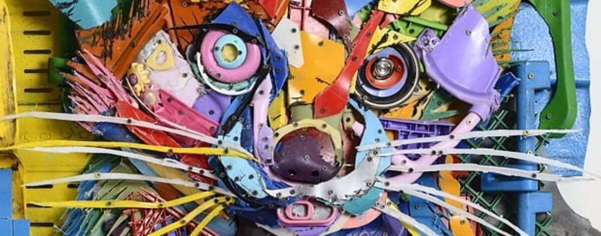 Bordalo II y los trash animals del street art