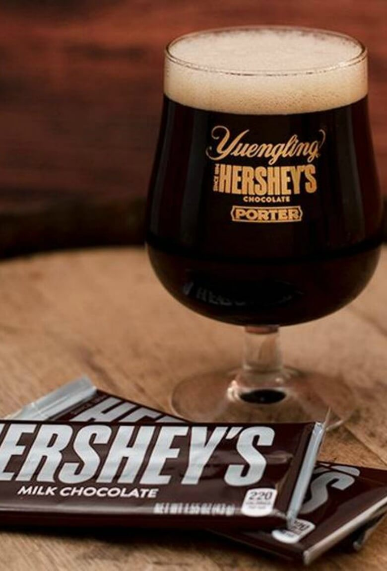 Cerveza sabor chocolate de Hershey's y Yuengling